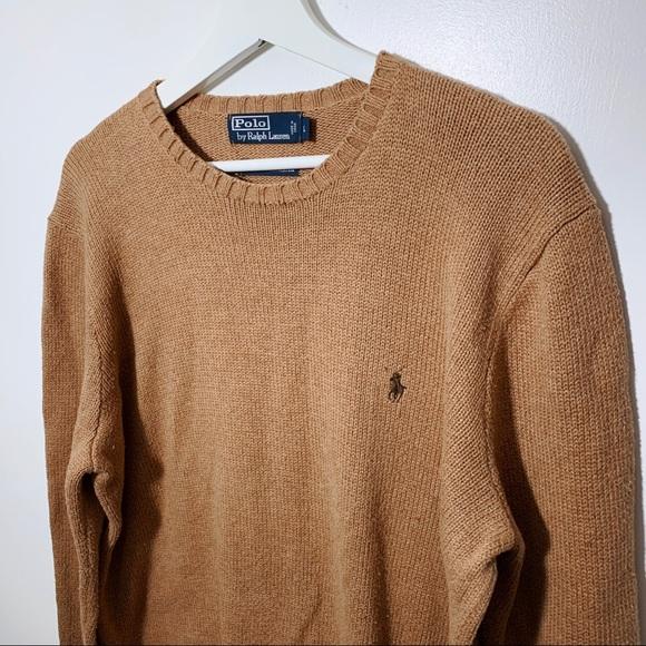 5abfb9a4a75 Polo Ralph Lauren Crewneck Sweater Tan. M 5c47b1cb34a4ef3c7a3bbbf0